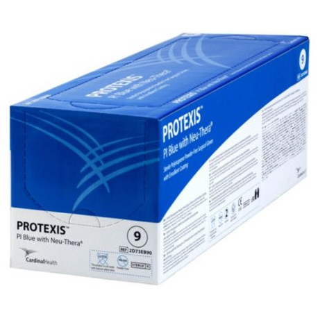 Protexis Gloves PI Blu Neuthera Size 7.5 Sterile